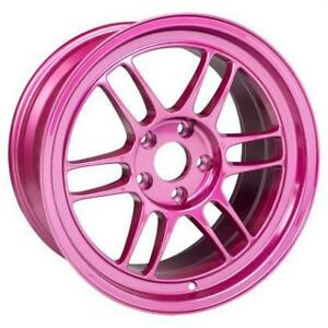 ENKEI RPF1 Magenta 18x9.5 17x9 Special Colour **WHEELSCO**