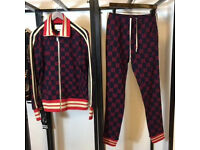 GUCCI GG MENS TRACKSUIT HOODIE AND BOTTOM