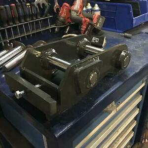 Excavator Wedge Couplers --- Built To Match OEM Patterns --- Available To Fit Any Machine --- Canadian Built