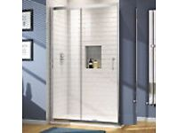 Sliding Shower Enclosure | Bathroom Cubicle Glass Door & Tray.offers