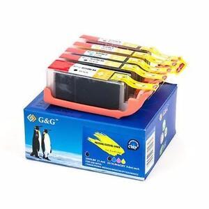 Canon PGI-250XL/CLI-251XL New Compatible Ink Cartridges combo Pack