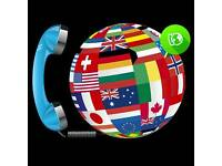international calls unlimited ONE OFF PAYMENT