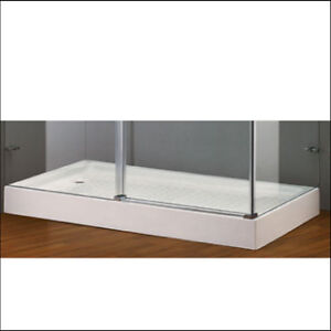Shower base - brand new, fits in standard tub size opening