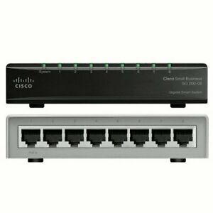 CISCO SMALL BUSINESS 200 SLM2008T-NA SMART SG200-08 GIGABIT