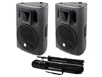 Professional PA system and soundman for hire