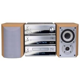 Denon PMA-201SA Hifi Components CD Tuner Amp Speakers and Remote Control