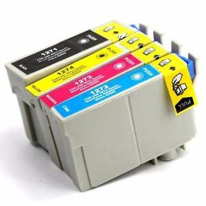 Epson T127 New Compatible Ink Cartridges Value Pack EXTRA High Yield (BK/C/M/Y)