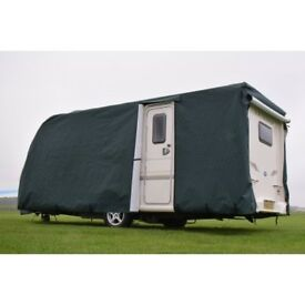 Protec Easy Fit Caravan Cover for 2017 Bailey Pursuit 400/2 with door access