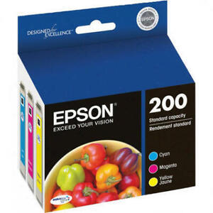 EPSON 200 standard-capacity + tricolor + ink cartridges