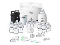 Brand new unopened Tommee Tippee complete starter feeding set