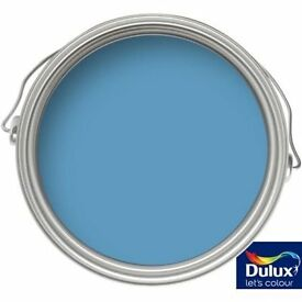 2.5L* DULUX BATHROOM + (plus) EMULSION PAINT - Blue Lagoon, soft sheen
