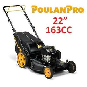 NEW POULAN PRO LAWN MOWER 22 961420141 247750167 163CC 3IN1 GAS LAWNMOWER