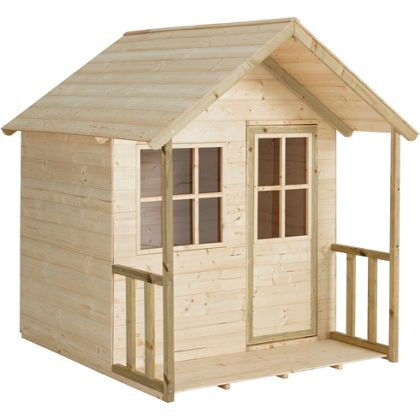 TP Wooden Ground Playhouse