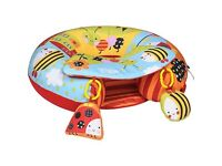 Sit me up inflatable ring with extra play mat