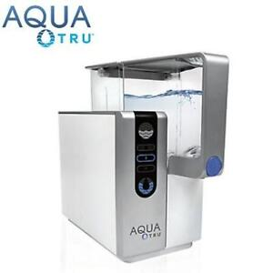 NEW WATER PURIFICATION SYSTEM 90AT03AT01 214647153 Aquatru Reverse Osmosis Counter Top Water Purifier Certified Filter