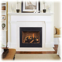 GAS FIREPLACE - CD