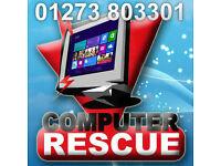 ALL COMPUTER PROBLEMS SOLVED. Laptop Repair, Pc Repair, remote access / Brighton, Wor
