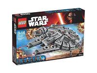 Star Wars millennium falcon 75105 BNIB