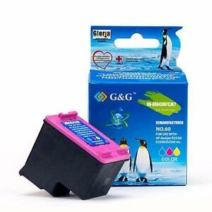 HP 60XL Remanufactured Color Ink Cartridge (CC643WN) High Yield