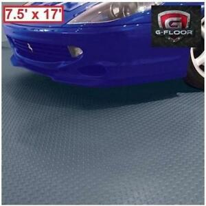 NEW G FLOOR DIAMOND FLOOR COVER GF75DT717SG 230293662 7.5' x 17' DIAMOND TREAD COMMERCIAL GRADE SLATE GRAY GARAGE FLO...
