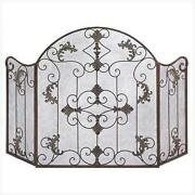 Metal Fireplace Screen