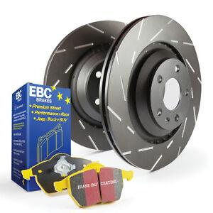 06-13 Audi A3 EBC S9 Brake Kit; Yellowstuff Brake Pads USR Rotor