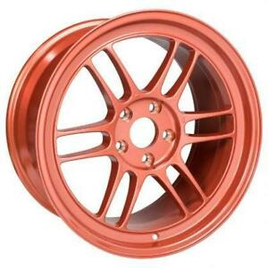 ENKEI RPF1 Orange 18x9.5 17x9 Special Colour **WHEELSCO**
