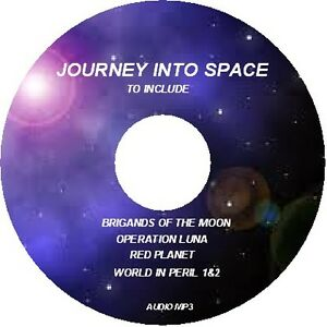 JOURNEY INTO SPACE/BRIGANDS OF THE MOON/OPERATION LUNA/RED PLANET/WORLD IN PERIL