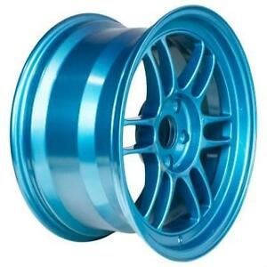 ENKEI RPF1 Emerald Blue 18x9.5 17x9 Special Colour **WHEELSCO**