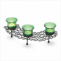 Emerald Green Tea-light Holder (NEW still in box)