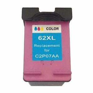 HP 62XL (C2P07AN) Remanufactured Tri-color Ink Cartridge (High Yield)