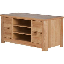 Schreiber Constable Entertainment Unit - Oak
