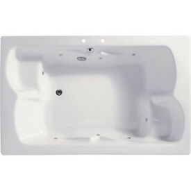 Double Bath - Silver Whirlpool (Homebase 820111)