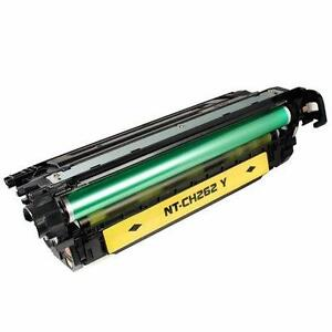 HP CE262A New Compatible Yellow Toner Cartridge(HP 648A)