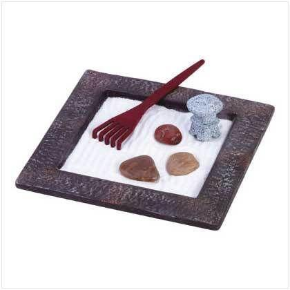 Tabletop zen garden ebay for Table zen garden