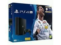 PS4 Pro 1TB & Fifa 18 Bundle New