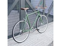 Brand new Hackney Club single speed fixed gear fixie bike/ road bike/ bicycles + 1year warranty hhh4