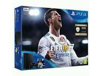 PS4 Slim 500GB & Fifa 18 Brand new