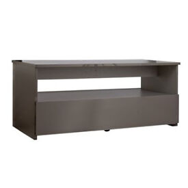 Hygena Aurora 1 Drawer Coffee Table - Grey Gloss