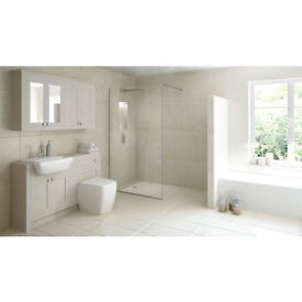 Wetroom Kit with 900mm Shower Tray - New (Original Package)