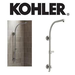 NEW* KOHLER SHOWER COLUMN - 125054935 - HYDRORAIL R BRUSHED NICKEL