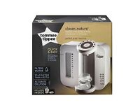 BRAND NEW IN BOX SEALED The Tommee Tippee Closer to Nature Perfect Prep Machine