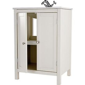 Homebase Henley Ivory Vanity Unit