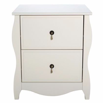 Ex display Abingdon 2 Drawer Bedside Chest