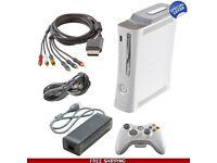 White Xbox 360 250gb