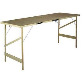 Hardboard Folding/Pasting/Car boot Table - 1780 x 560 x 740mm