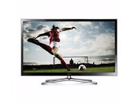 Samsung 60 Plasma Full HD Smart 3D in Mint Condition Hardly Used, with Panasonic Blue ray soundbar.