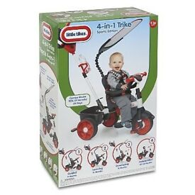 *BRAND NEW BOXED UP & SEALED* Little Tikes 4-in-1 Sports Edition Trike - Red & White