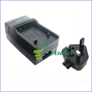 Battery Charger For Casio Exilim Zoom EX-Z100 EX-Z1000 EX-Z1050 EX-Z1080 EX-Z850