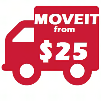 MOVEIT FOR LESS , DELIVERY, PICKUPS, REMOVALISTS